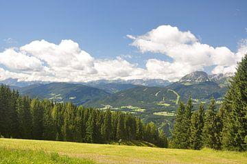 Österreichische Landschaft von Danique Prinsen