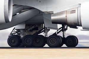 Wheels on the tarmac