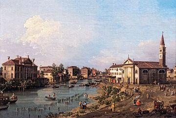 Vue de Dolo, Canaletto