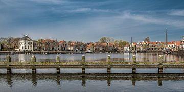 De haven van Blokzijl op een vroege lentedag sur Harrie Muis