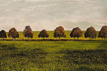 Herfstbomen van marleen brauers