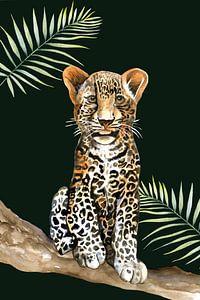 Leopard klein