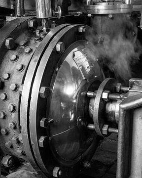 Stoommachine van Arjan van de Logt