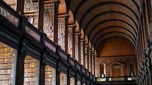 Longroom Trinity College Bibliotheek van Terry De roode