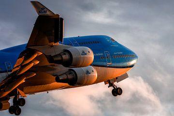 Start der KLM-Boeing 747 von Aron van Oort