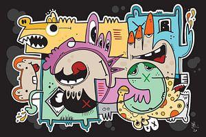 Slickers : Graffiti Cartoon Pop Art