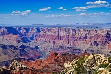 The Grand Canyon   East Rim   USA van Ricardo Bouman