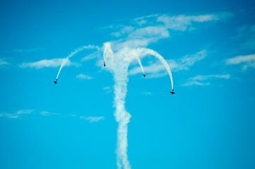 Stuntvliegtuigen van Michel Koenes