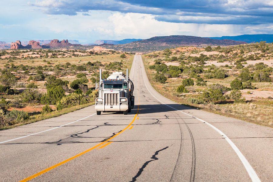 Utah State Route 313 naar Canyonlands van Frenk Volt