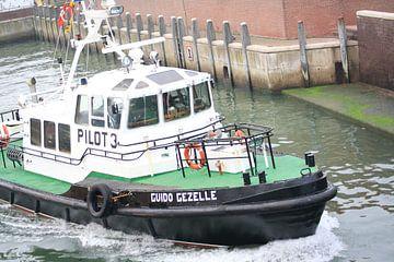 Loodsboot 1 van Janjaap Van Dijk