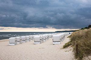 Beach chairs in Zinnowitz