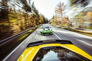 Chasing down the Corvette