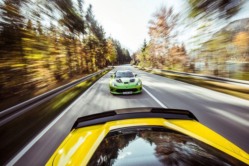 Chasing down the Corvette van Sytse Dijkstra