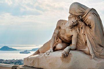 Statue von Christ von Anouschka Hendriks
