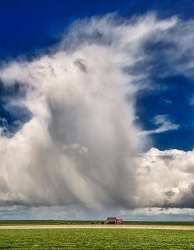 Zeer plaatselijke regenwolk von Harrie Muis