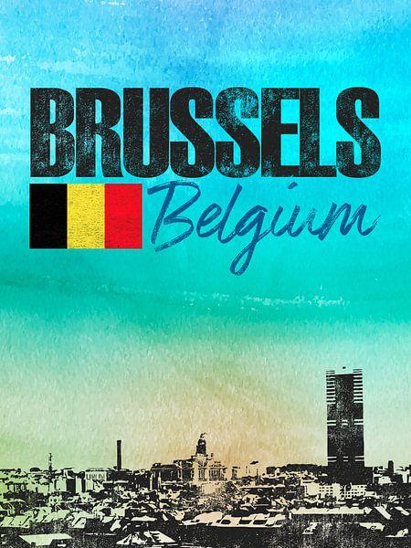 Brussel van Printed Artings
