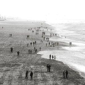 Scheveningse strand van Bob Bleeker