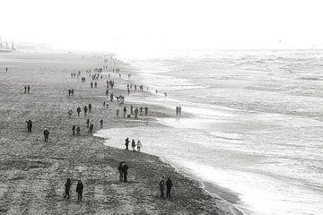 Scheveningse strand von Bob Bleeker