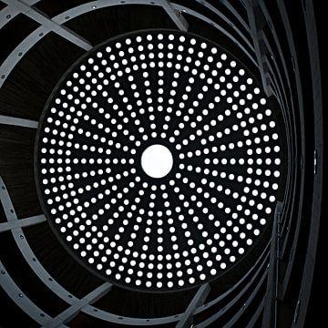 Plafond van een parkeergarage