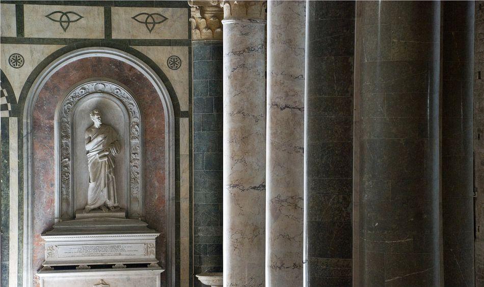 Pilaren in Italiaanse kerk