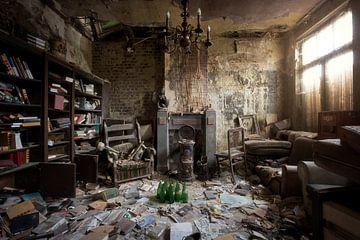 verlaten woonkamer van Kristof Ven