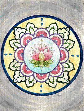 De Lotus Mandala van Sandra Steinke