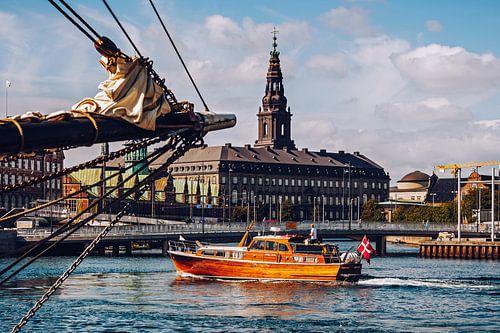 Copenhagen - Christiansborg Palace van Alexander Voss