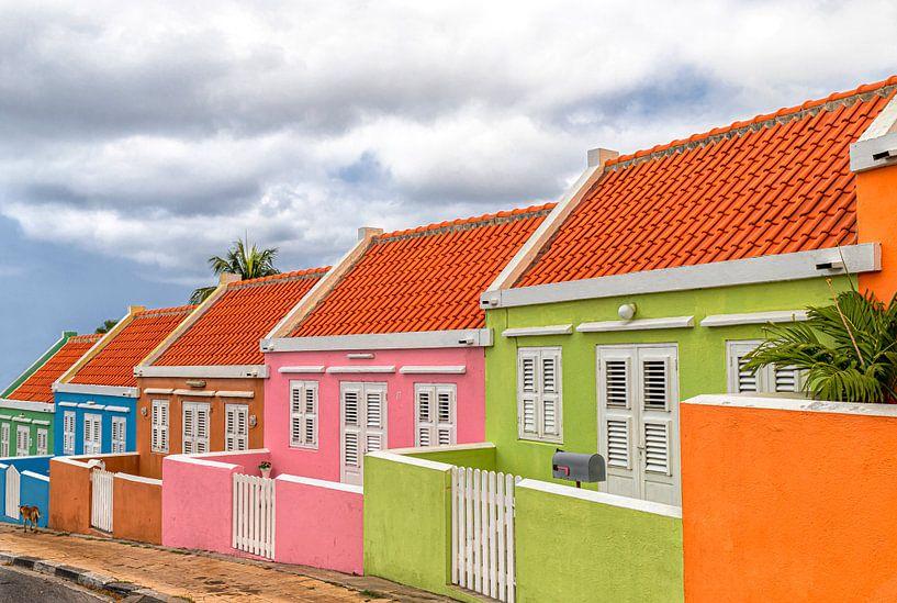 Echt kleurrijk Curacao - Willemstad van Marly De Kok