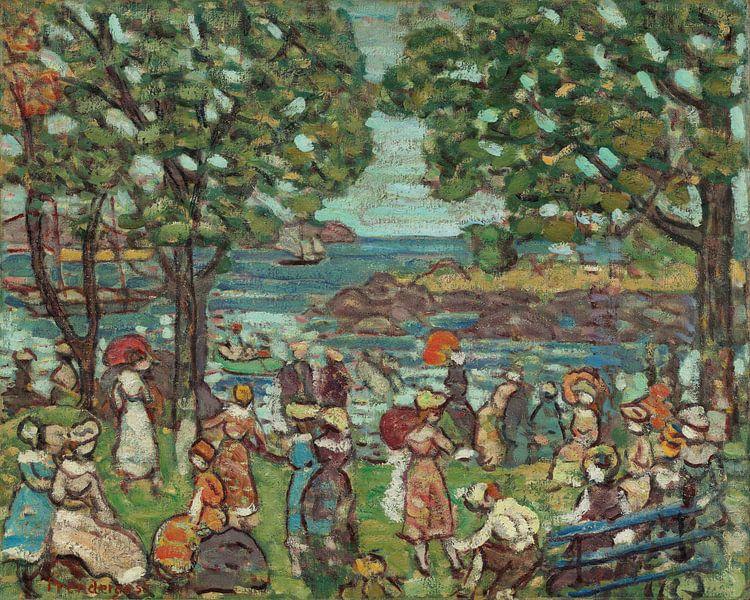 Maurice Prendergast-Salem Cove. von finemasterpiece