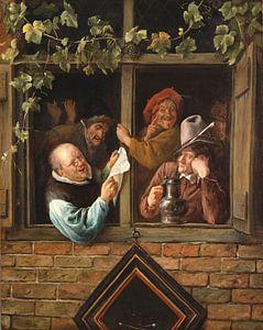 Jan Steen. Retorici bij een raam