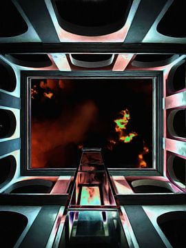 Brennender Himmel von Maurice Dawson