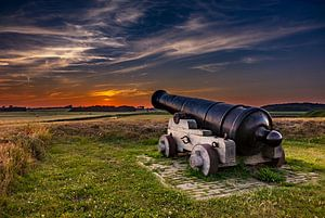 Kanon Fort de Schans  Texel