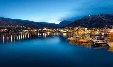 Hafen von Tromso, Norwegen von Stef Boey