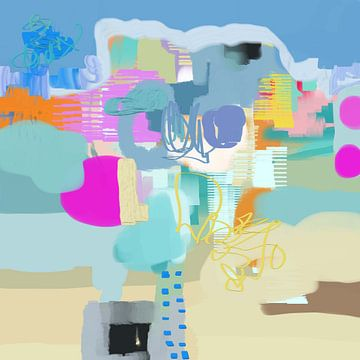 ongebonden, Christine Auda  van PI Creative Art