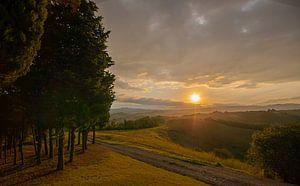 Toscaanse ochtend van
