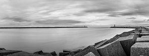 Panorama Vissershaven, Scheveningen.