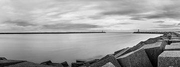 Panorama Vissershaven, Scheveningen. van