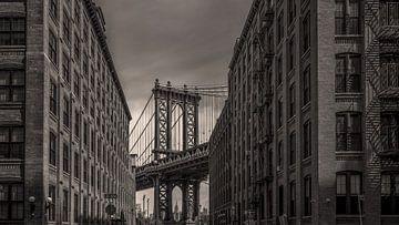 New York - Manhattan Brücke von Toon van den Einde