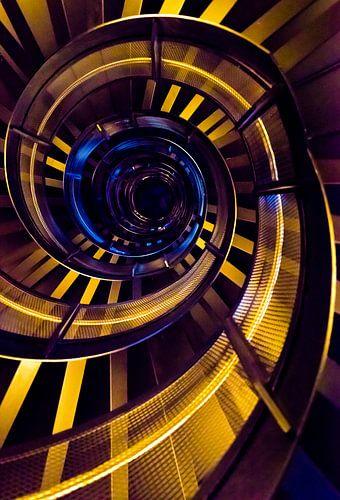 Abstracte swirl van