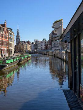 Bloemenmarkt Amsterdam van Foto Amsterdam/ Peter Bartelings