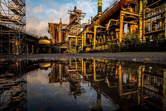 Ruhrgebied Duitsland - Industrie fotografie -5 van Damien Franscoise