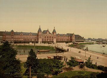 Amsterdam Station von Vintage Afbeeldingen