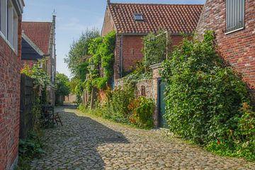 Veere, mooi stadje in Walcheren Zeeland van Dirk van Egmond