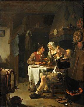 Interieurszene, Frans van Mieris der Ältere