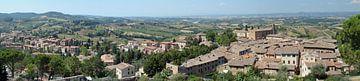 San Gimignano panorama von Carel van der Lippe