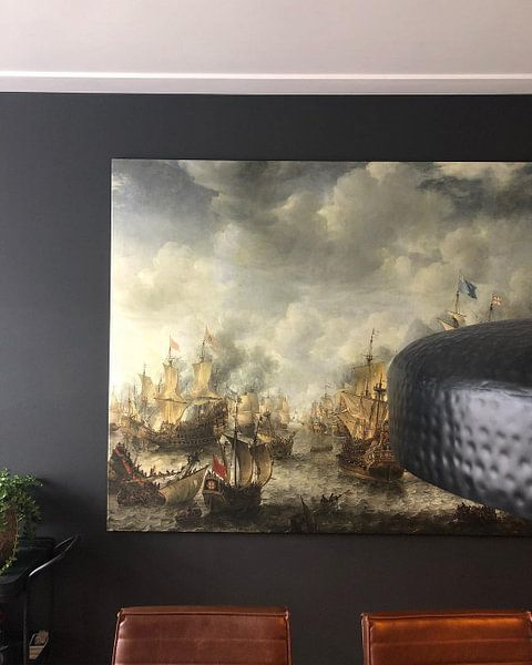 Klantfoto: Slag bij Terheide, Jan Abrahamsz. Beerstraten van Rebel Ontwerp