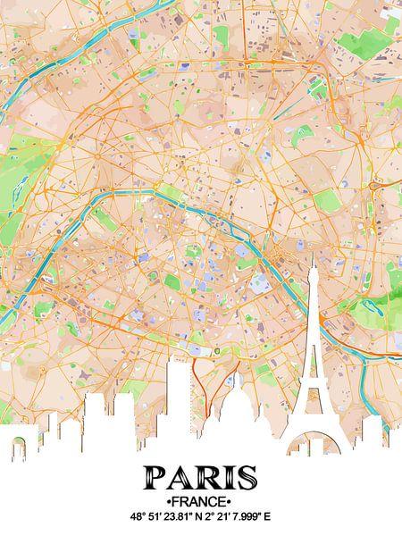Parijs van Printed Artings