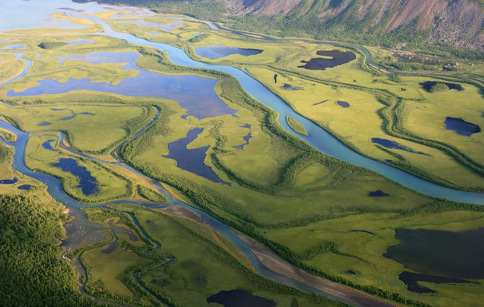 Arctische delta van Sander van der Werf