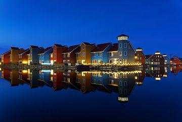 Reitdiep haven Groningen 2 van Marcel Kieffer