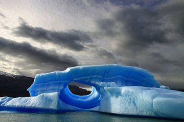 Blauwe ijsberg sur Antwan Janssen